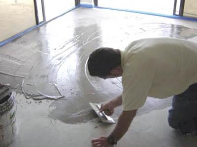 Преимущества бетонного пола