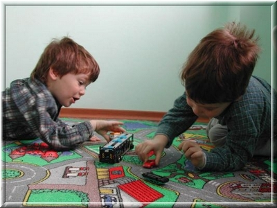 Ковровое покрытие  для комнаты детей старшего возраста