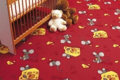 Ковровое покрытие в детской
