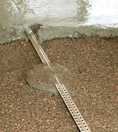 Заливка стяжки на керамзит