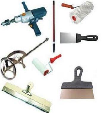 Инструменты для укладки наливного пола