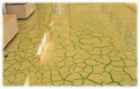 Заливной пол 3D - растрескавшаяся земля в пустыне