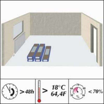 Нормы температуры и влажности при укладке ламината