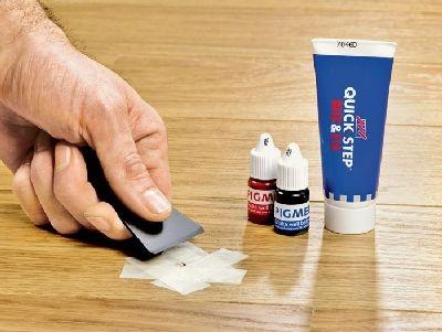 Как удалить царапины с ламината
