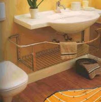 Система теплый пол в ванной