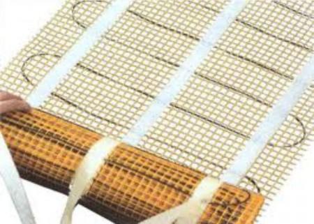 Электрический теплый пол на основе матов