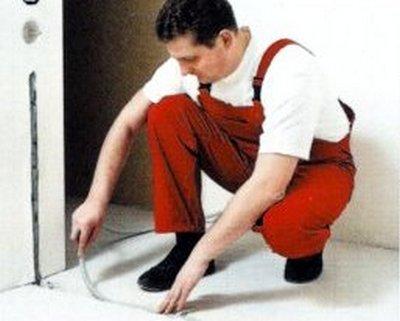 Монтаж теплого пола под плитку