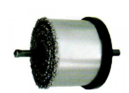 Подрезка кафеля с использованием коронки