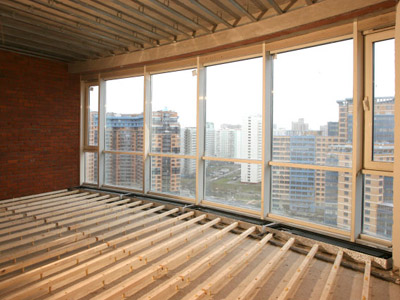 Регулируемый пол — выгодная замена традиционной бетонной стяжке