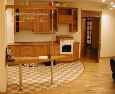 Дизайн пола на кухне - выбираем подходящее покрытие