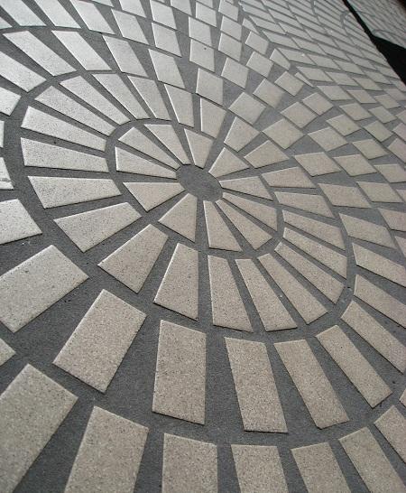 Дизайн пола плитка