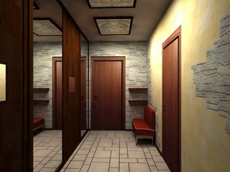 Керамогранит в коридоре