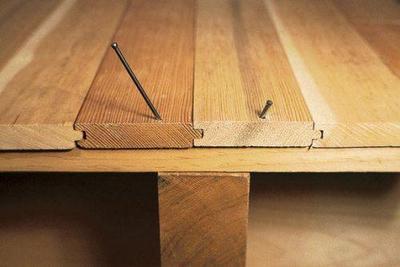 Как убрать скрип и заделать щели в деревянном полу