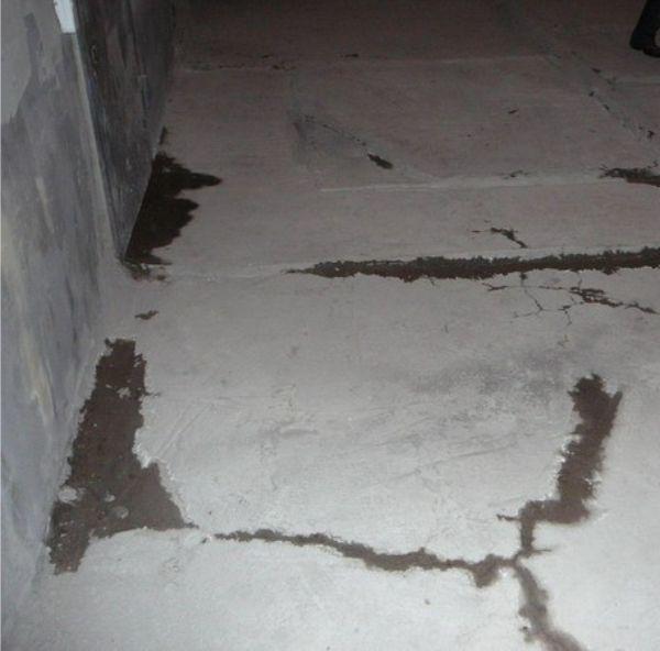 Ремонт старого бетона стяжки из поризованных цементных растворов