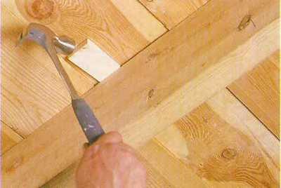 Скрип деревянного пола