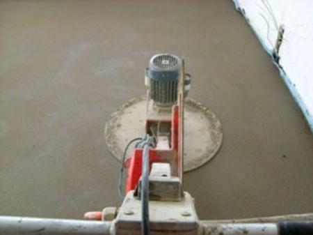 Шлифуем бетонную стяжку
