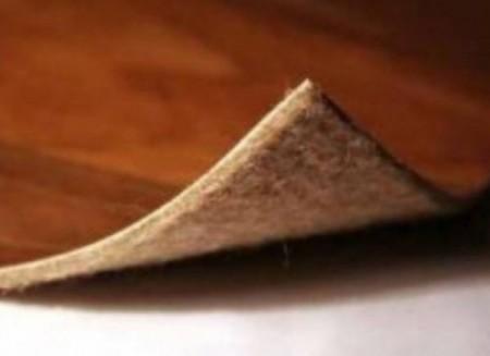Утепленный линолеум на основе из джута или войлока