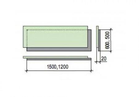Размеры малоформатного листа гвл