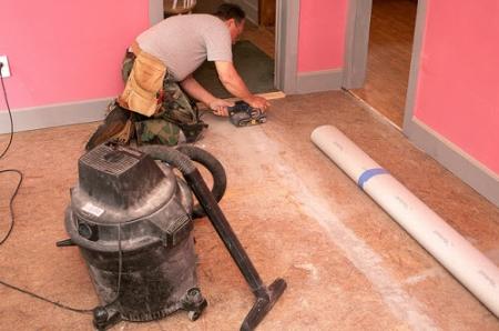 Секреты подготовки бетонного и деревянного пола под линолеум