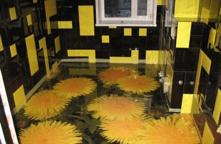 Расход смеси при устройстве наливных полов в доме