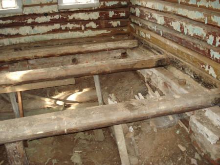 эффективно утеплить пол в старом деревянном доме