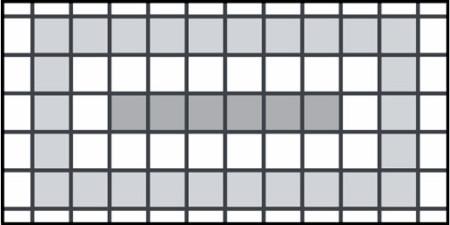 Пример правильной раскладки плитки